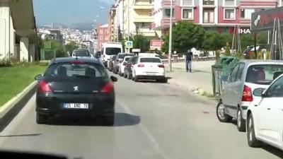 Atakum zabıtasından korona virüs teşhisi alan vatandaşlara karantina kontrolü