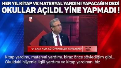 CHP'li Mansur Yavaş öğrencilere verdiği sözünü tutmadı!