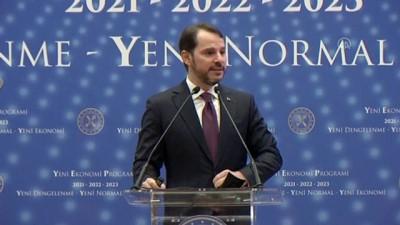 Hazine ve Maliye Bakanı Albayrak: 'Yeni ekonomi programımızın ana temalarını Yeni Dengelenme, Yeni Normal ve Yeni Ekonomi olarak belirledik' - İSTANBUL