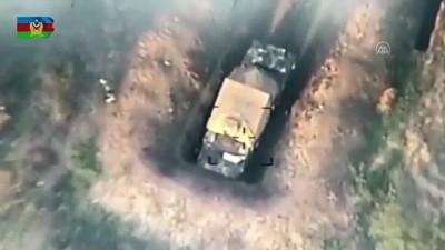 Azerbaycan, Ermenistan ordusunun tank, top ve füze sistemlerini imha etti - BAKÜ