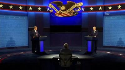 Donald Trump ve Joe Biden'ın ilk canlı yayın tartışması başladı (3) - ABD