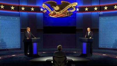 Donald Trump ve Joe Biden'ın ilk canlı yayın tartışması başladı (4) - ABD