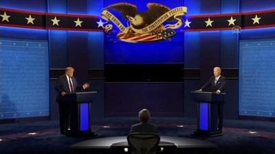 Donald Trump ve Joe Biden'ın ilk canlı yayın tartışması başladı (5) - ABD