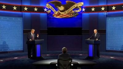 Donald Trump ve Joe Biden'ın ilk canlı yayın tartışması başladı (6) - ABD