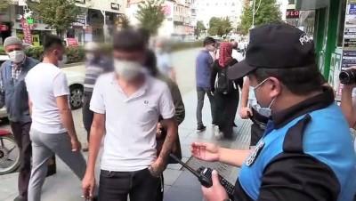 Maske takmayıp polise direnen kişiye 392 lira ceza kesildi - ÇORUM