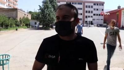 maske dagitimi -  - KPSS soruları zorladı