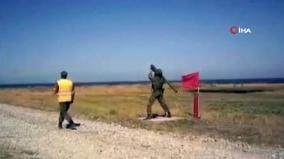 - Rus yapımı roket askerin omzunda patladı
