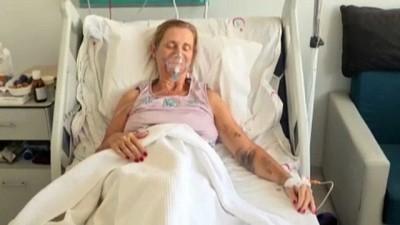 ambulans ucak -  Sigorta şirketiyle anlaşamadığı için hastane masraflarını karşılayamıyordu, İngiliz hasta kadın özel uçak ile ülkesine gitti