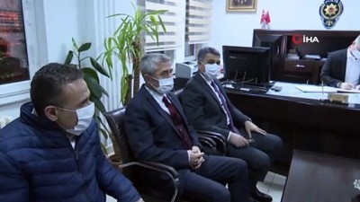 kamu gorevlileri -  Başkan Mehmet Tahmazoğlu, yeni yıla kamu çalışanları ile girdi