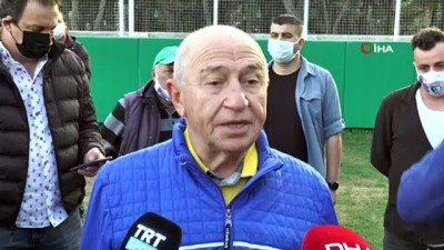 """Nihat Özdemir: """"Ana hedefimiz mart sonu seyirciyle devam etmek"""""""