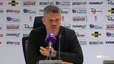 rektor - Akhisarspor - Adanaspor maçının ardından