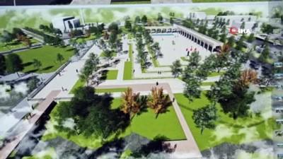 Hasankeyf'e 10 bin metrekare alan üzerine yeni kent meydanı yapılıyor