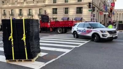 yemin toreni -  - ABD'de Biden'ın yemin töreni öncesi güvenlik önlemleri arttırıldı