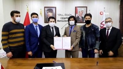 Ağrı Belediyesi ile Serhat Kalkınma Ajansı  arasında protokol imzalandı