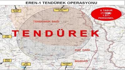 Eren Operasyonları başlatıldı
