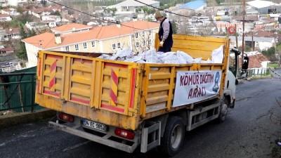 komur yardimi -  Eyüpsultan'da bin 200 aileye kömür desteği