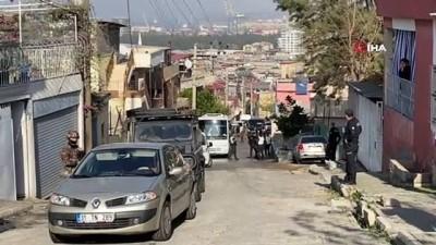 İskenderun'da 400 polis ile narkotik operasyonu