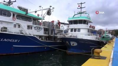 gesi -  - Balıkçı tekneleri ve yük gemileri limanlara sığındı