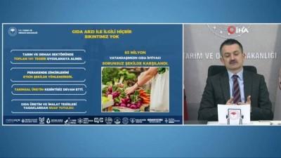 demirli -  Bakan Pakdemirli, Tarım Müşavirleri ile Türkiye İhracatçılar Meclisi Tanışma ve İstişare toplantısında konuştu