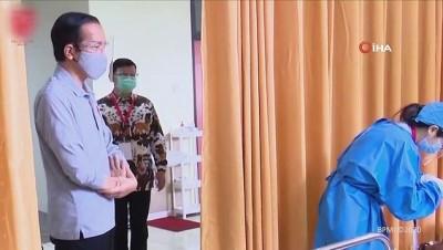 - Endonezya'da Covid-19 aşılamaları başlıyor - Endonezya'da günlük Covid-19 vaka sayısında rekor