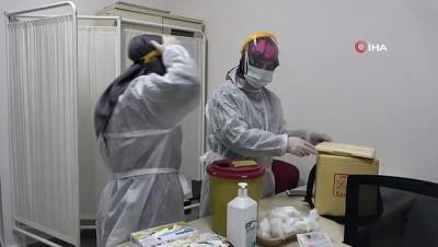 Kırıkkale'de aşılama çalışmaları başladı: İlk etapta 5 bin 200 doz aşı uygulanacak
