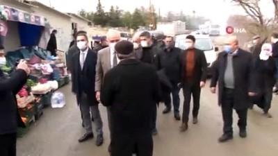 deprem bolgesi -   Milletvekili Kahtalı deprem konutlarını inceledi