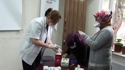 Niğde'de sağlık çalışanları aşı oldu