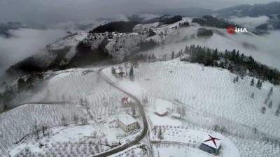 Ordu'da kartpostallık kar manzaraları