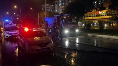 Ordu'da kaza sonrası otomobil alev topuna döndü: 1 ölü, 2 yaralı