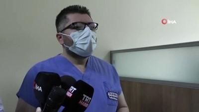 Sağlık personelinde aşılama başladı, ilk aşıyı İl Sağlık Müdürü Ali Bulut yaptırdı