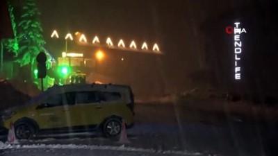 gesi -  Uludağ'da kar yarım metreyi aştı