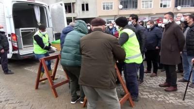 Kazada hayatını kaybeden eski milletvekilinin oğlu toprağa verildi