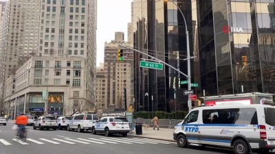 metro istasyonu -  Trump'ın New York'taki otelinin çevresinde önlemler arttırılıyor