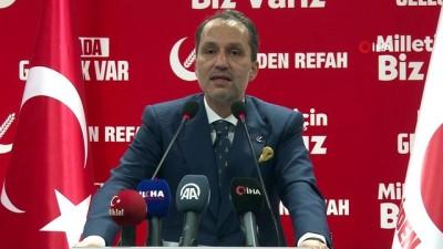 milli gorus -  Yeniden Refah Partisi Genel Başkanı Erbakan: 'Milli görüş ruhuyla yeniden geleceğiz inşallah''