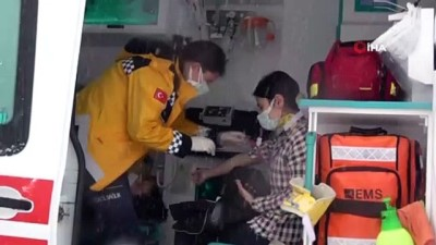 Zonguldak'ta otobüs devrildi: 1'i bebek 12 yaralı