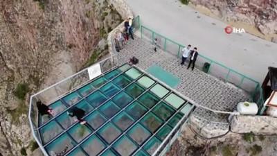 Türkiye'nin en yüksek cam terasına ziyaretçi sayısı yarı yarıya düştü