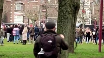 - Hollanda'da binlerce kişi Covid-19 kısıtlamalarını protesto etti
