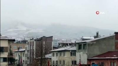 - Amasya'da mevsimin ilk karı yağdı