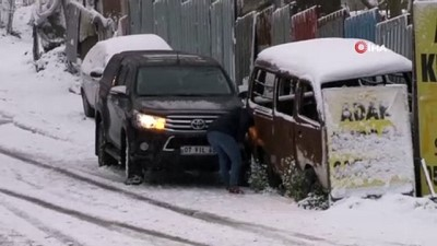 kamera -  Aynı yokuşta ikinci kaza