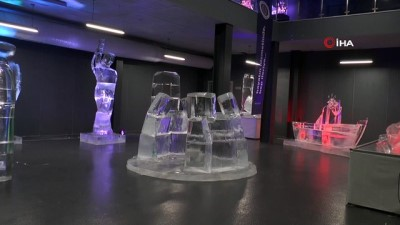 Buzu sanata dönüştürdüler