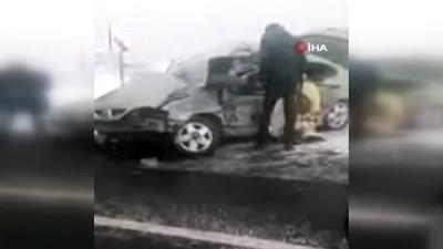 Erzurum'da feci kaza... Anne ve çocuğu hayatını kaybetti