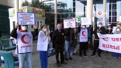 alabalik -  - Sağlık çalışanları destek bekliyor