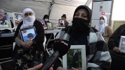 'Son çarem burası kaldı' diyen anne HDP önündeki evlat nöbetine katıldı