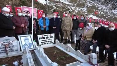 teror orgutu -   Bakan Kasapoğlu'ndan Eren Bülbül'ün mezarına ziyaret