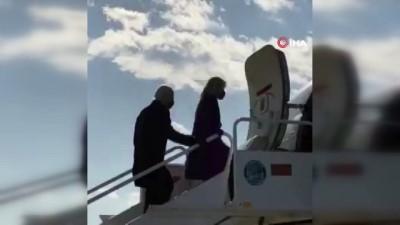 yemin toreni -  - Biden, yemin töreni için Washington DC'ye doğru yola çıktı