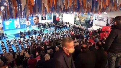 Cumhurbaşkanı Erdoğan, AK Parti Karabük 7. Olağan İl Kongresine bağlandı