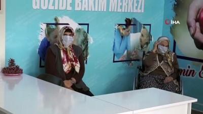 - Erzurum'da Bakımevinde kalan yaşlılar aşılandı