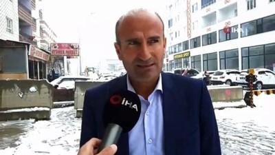 kar kureme araci -  Mardin'de yılın ilk karı yağdı