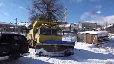 Sinop'ta kapalı köy yolu kalmadı