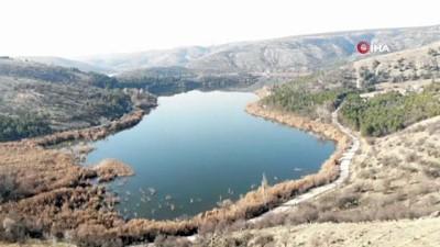 Eymir Gölü kısıtlamada sessizliğe büründü